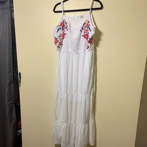 NWT size 22 white lined sundress